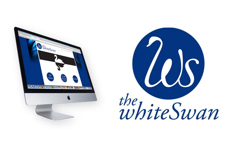 The white swan logo e sito internet for Logo sito internet