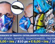 Fully customizable fabric masks
